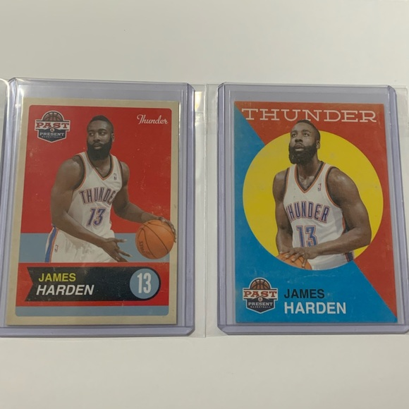 Panini Other - Lot of 2: James Harden '12 Panini Cards